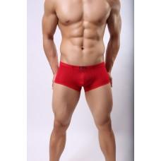 Яркие полупрозрачные мужские шорты