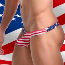 Мужские стринги - флаг