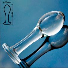 Анальная пробка стекло для начинающих
